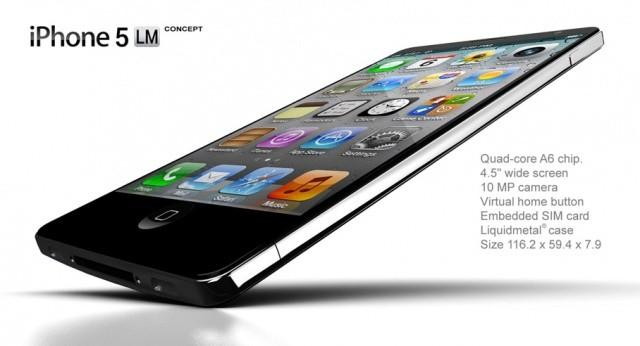 Aluminum iPhone 5 Concept 1