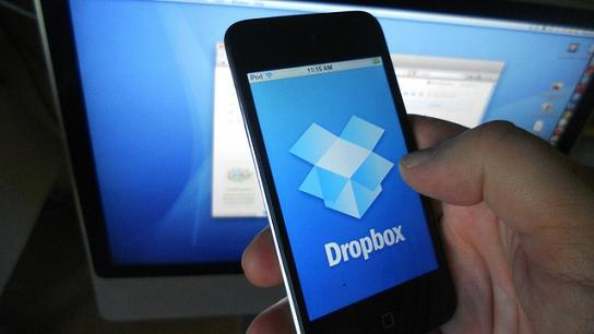 DropBox cloud storage ew features for businesses