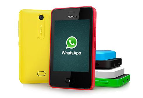 nokia asha 501 whatsapp messenger
