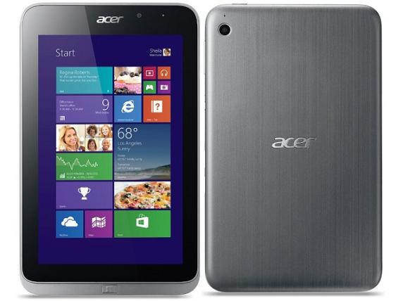 Acer Iconia W4 comes with 8-inch Windows 8.1 tablet quick review and Specifications