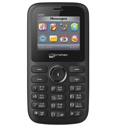 Micromax X097 Dual SIM Low Price Mobile Phone launched in India, Specifications Overview