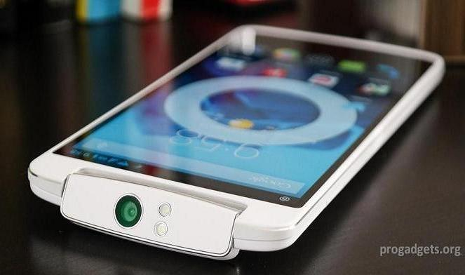 Oppo N1 display image