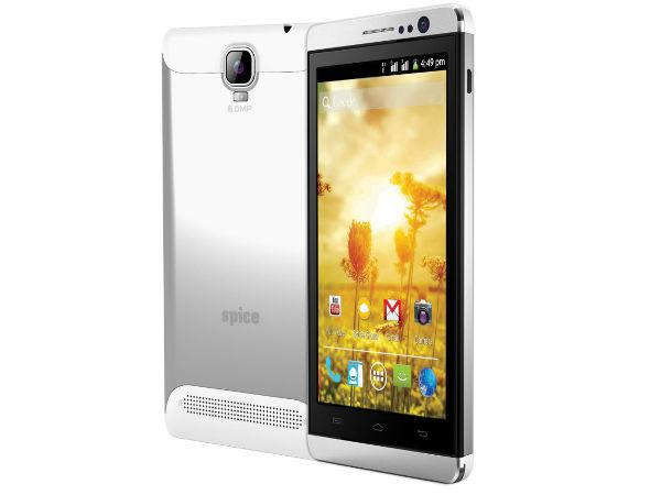 Spice Mobile launched Stellar Mettle Icon Mi-506 phone for INR 6,999