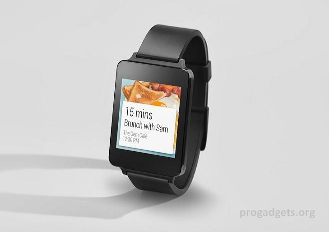 LG G Watch launch