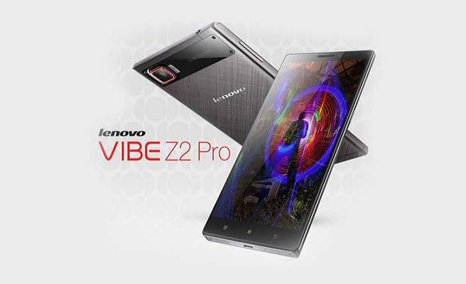 Lenovo Vibe Z2 Pro unveiled with 6-inch Quad HD Display and Snapdragon 801