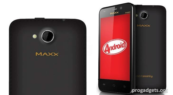 Maxx AXD21 MSD7 Smarty Dual core with KitKat Launched at Rs.4,020
