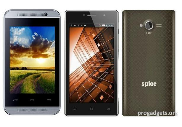 Spice Smart flo Mi-359 and Stellar Mi-451 smartphones launched India