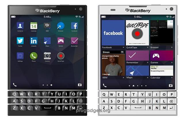 BlackBerry Passport with 4.5inch screen Launched at Rs. 49,990