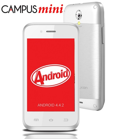 Celkon Campus Mini A350 Dual-Core with Android Kitkat launched at Rs. 3799