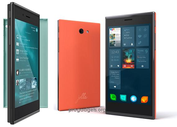 Jolla Sailfish smartphone launched in India at Rs.16499