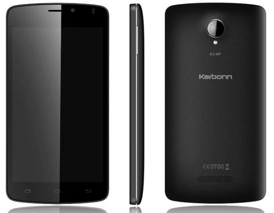 Karbonn Titanium S10 with Android 4.4 KitKat available at Rs 7,990