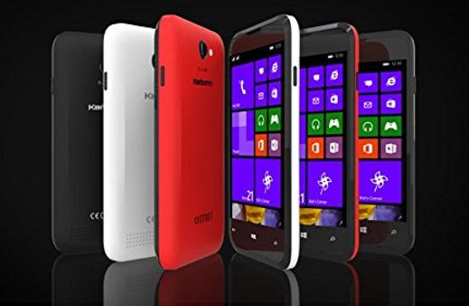 Karbonn Titanium Wind W4 windows Phone available at Rs 5,999