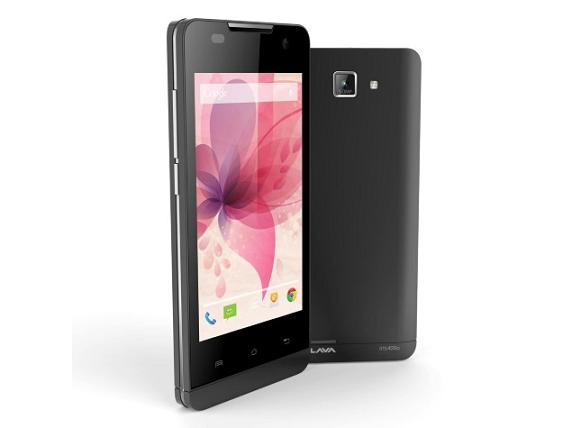Lava Iris 400Q with Android 4.4 KitKat available with Price of Rs. 5,499