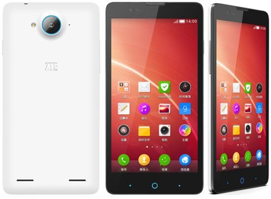 ZTE V5 Android KitKat Smartphone launched with Price of Rs.10,999