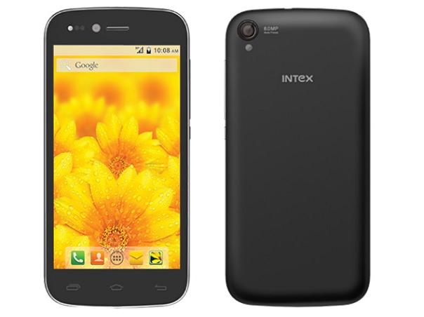 Intex Aqua Slice Android 4.4.2 KitKat Smartphone Priced at Rs.7,990