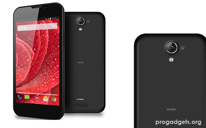 Lava Iris 500 with 5-inch display launched for Rs.5099