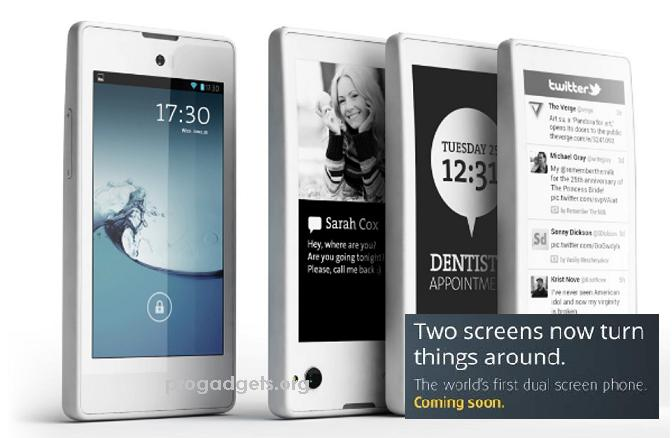 YotaPhone with dual display smartphone launching with Price of Rs.23,499