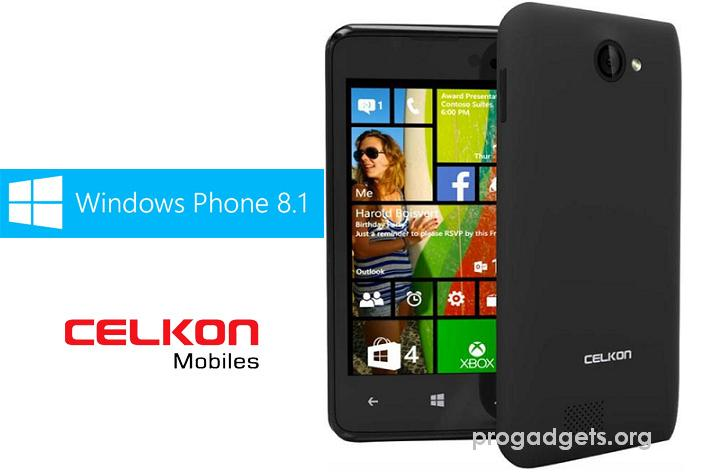 Celkon Win 400 With Windows 8.1 Phone Launched at Rs. 4,979