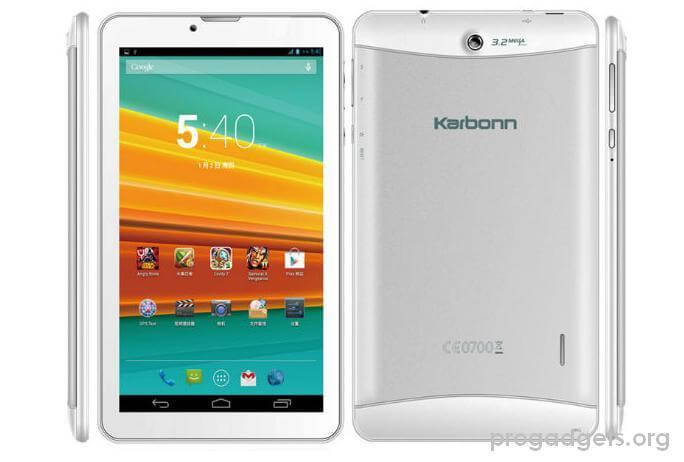 Karbonn ST72 with 7-inch display Voice-Calling Android Tablet Launched at Rs.6,248