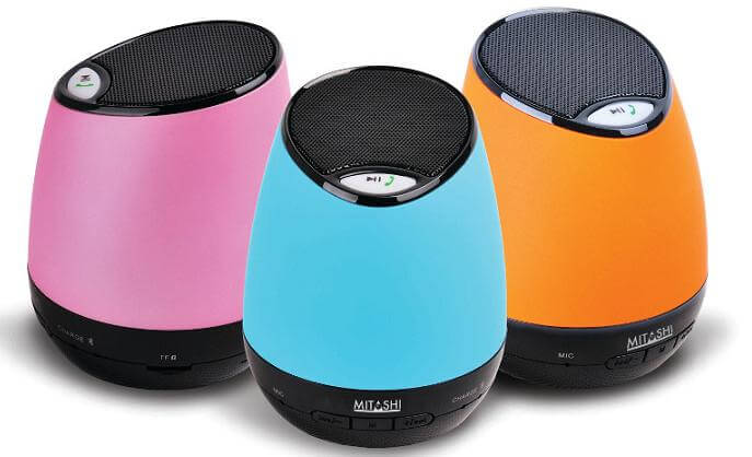 Mitashi ML 2200 Portable Bluetooth Speaker Launched for Rs.1890