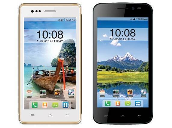 Intex Aqua Q1+ With dual-SIM Quad-core smartphone Launched at Rs.4,590