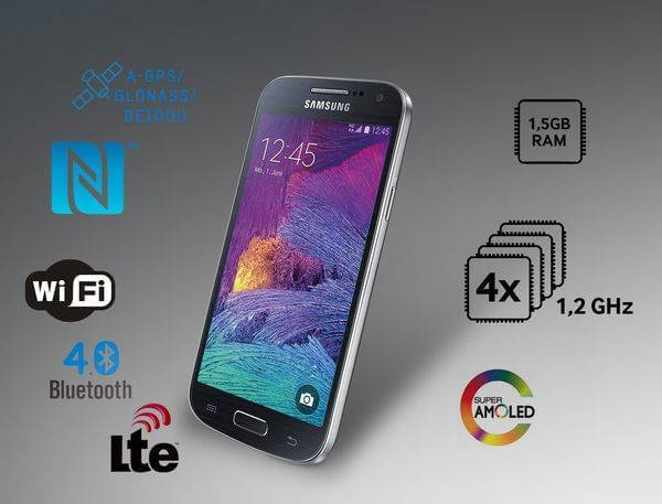 Samsung Galaxy S4 Mini Plus launched with Snapdragon 410 SoC