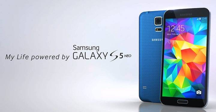 Samsung Galaxy S5 Neo listed online along with specifications