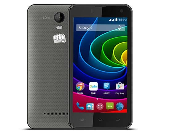 Micromax Bolt Q335 best smartphones under 6000